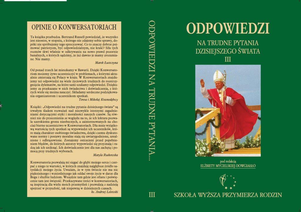Konwersatoria roku akademickiego 2007/08
